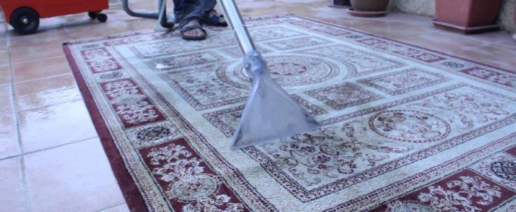 طريقة تنظيف السجاد بالمنزل